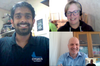 Sales Team Benefiting from Remote Working