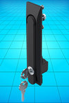 DIRAK new IP65 swinghandle for flat rod closure systems now from FDB Panel Fittings