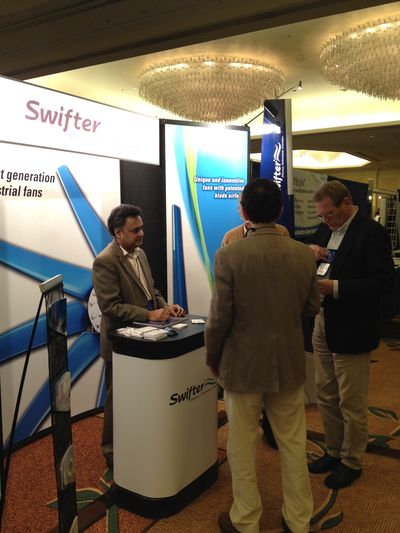 Glocon Inc. Exhibits Swifter® CTX Series Cooling Tower Fans at Annual CTI Conference