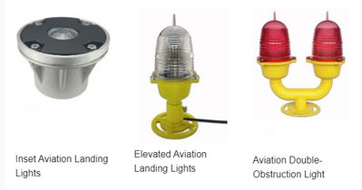 Helipad Landing Lights