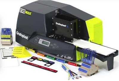 New-Grafoplast EvoMAX² Printer  with Luminescent  Products